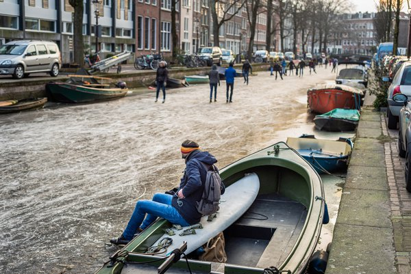 Skating on Amsterdam Canals thumbnail