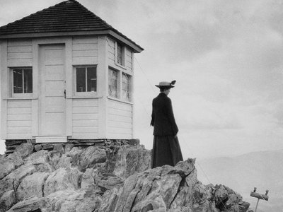 Women broke the glass ceiling of fire lookout positions almost as soon as the job was established.