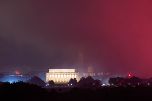 National Mall after 4th of July Fireworks thumbnail