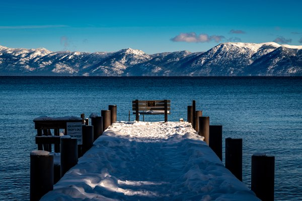 Lake Tahoe Winter View thumbnail