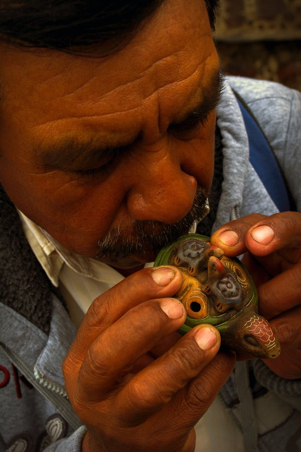 Angel, Artisan, in Teotihuacan, Mexico thumbnail