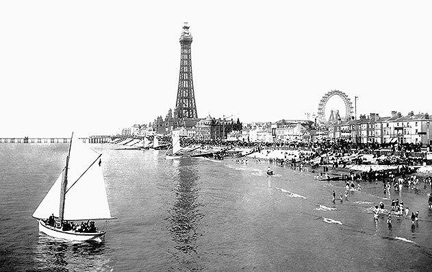 Blackpool England tower