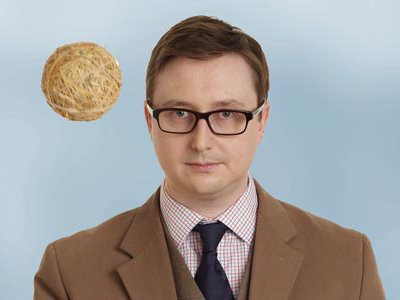 """John Hodgman, the author of """"More Information Than You Require,"""" is a preeminent authority on fake trivia."""
