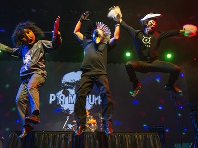 Alaska Magazine calls the Inuit drum-dance group Pamyua