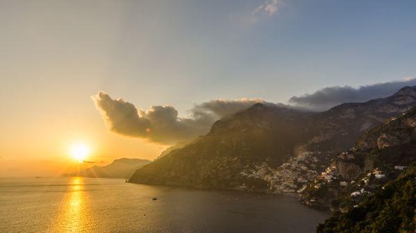 Sunset on the Amalfi Coast thumbnail
