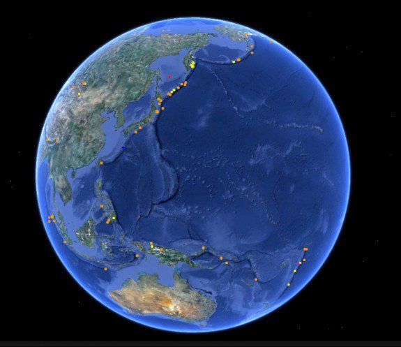 A Massive 8.0 Earthquake Hit the South Pacific Last Night