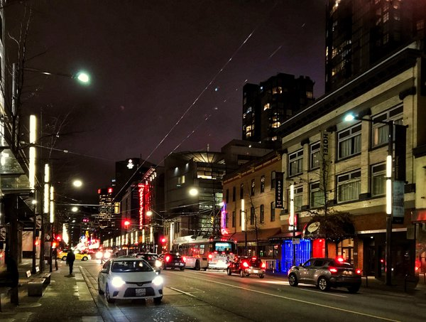 A night out in Vancouver. thumbnail