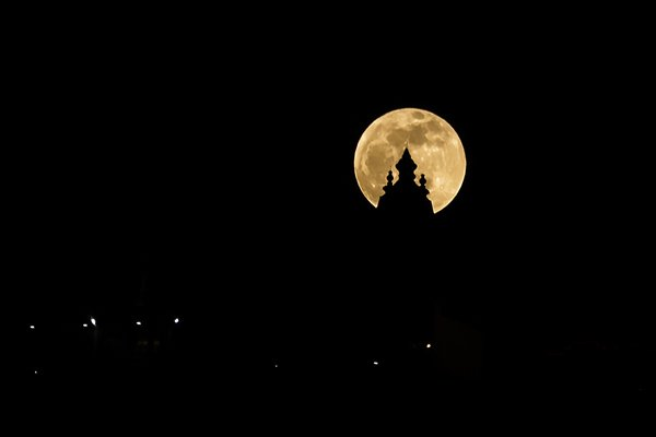 Moon With Temple thumbnail