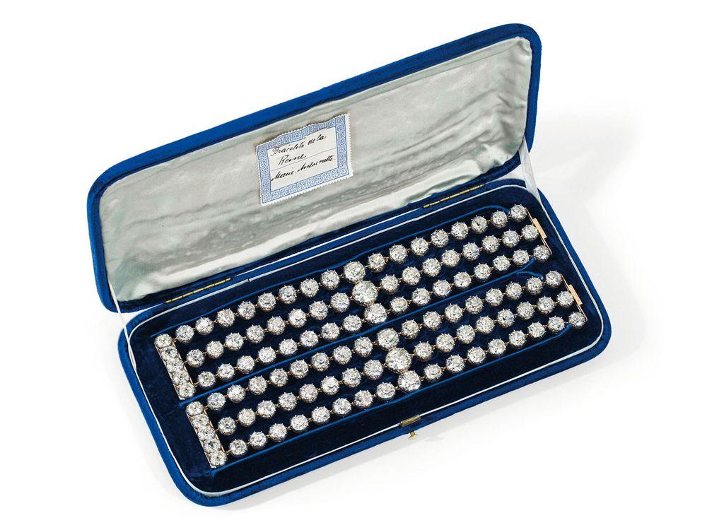Marie Antoinette's diamond bracelets