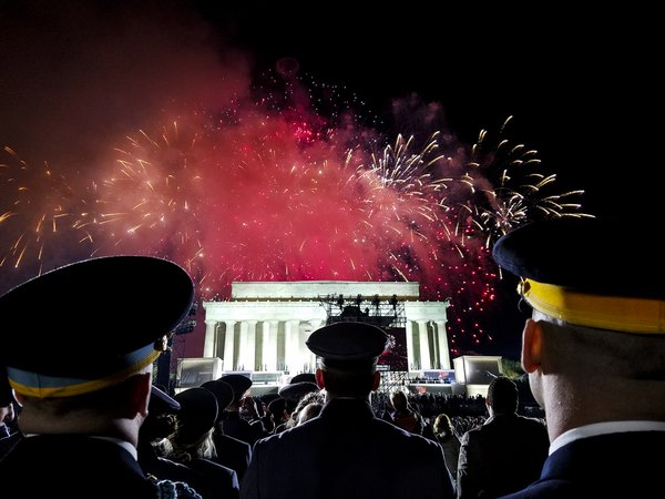 Cadets at Presidential Inauguration Concert thumbnail
