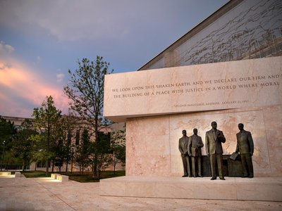 The Dwight D. Eisenhower Memorial's formal dedication is slated to take place on Thursday, September 17.
