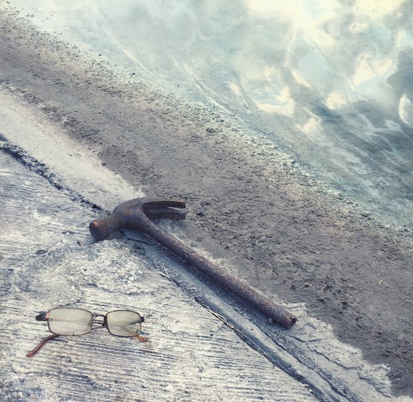 Composition With Hammer & Glasses thumbnail