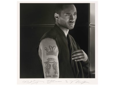 Following the news of the death of basketball legend Kobe Bryant, this 2007 portrait by Rick Chapman is now on view at the Smithsonian's National Portrait Gallery.