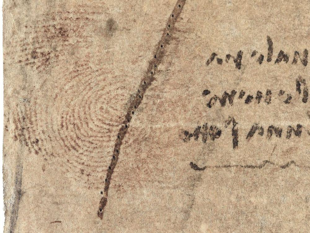 Leonardo Thumbprint