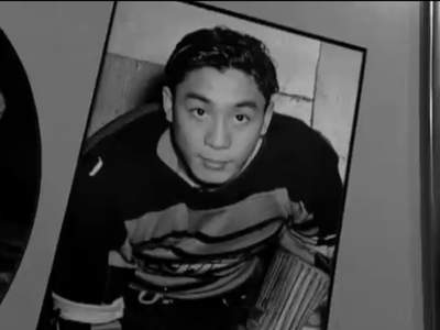 Larry Kwong in the 1940s