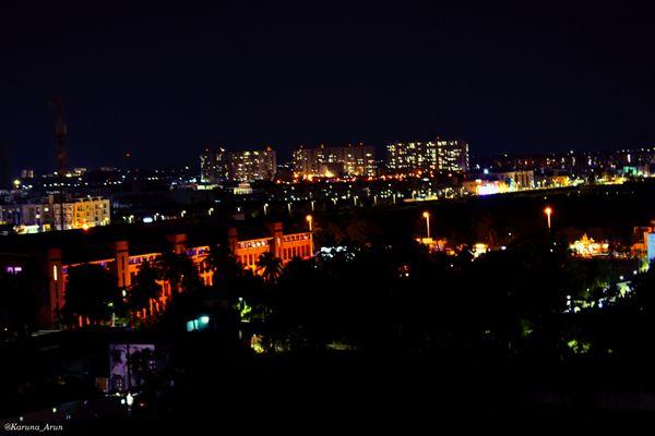Chennai city under lights thumbnail