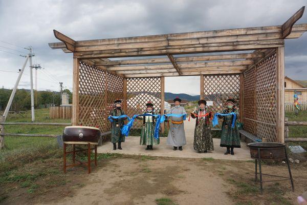 Meeting guests in Buryatia thumbnail