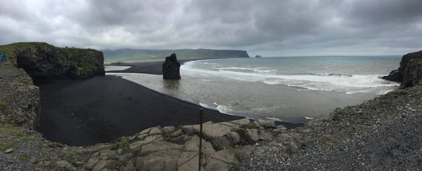 Black Beach of Southern Iceland thumbnail