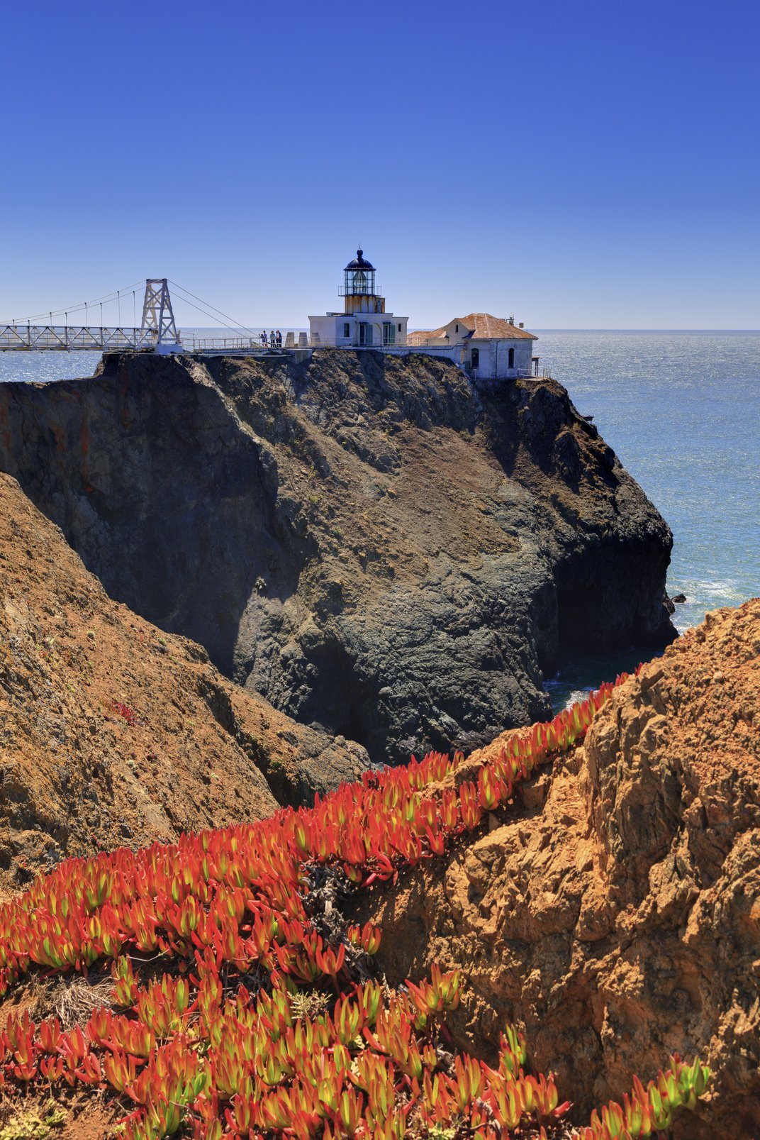 Point Bonita Lighthouse, Golden Gate National Recreation Area, Marin County, CA. (Richard Cummins/Corbis)