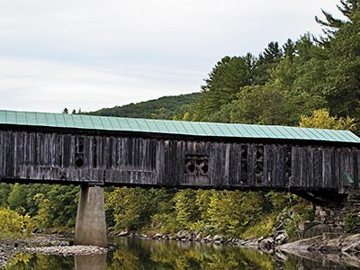 """Route 100, studded with historic landmarks like the Scott Bridge, """"offers such remarkable visual experiences,"""" says filmmaker Dorothy Lovering."""