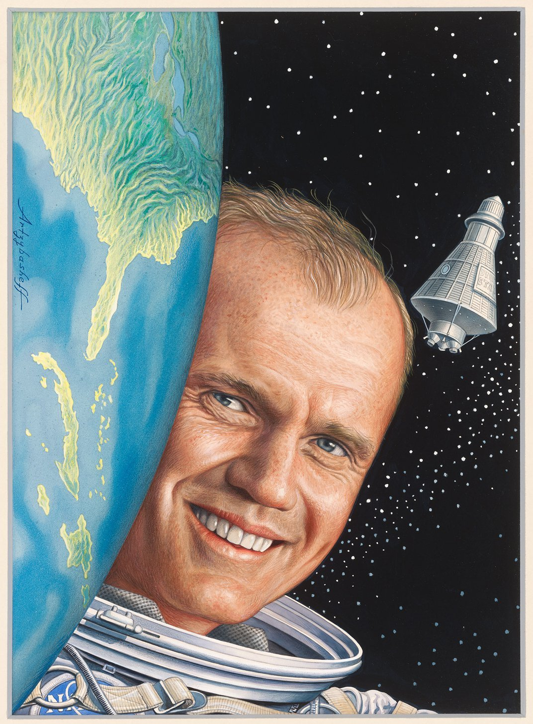 How John Glenn's Encore Space Flight Lifted U.S. Spirits