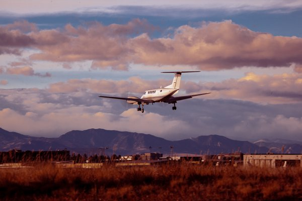 King Air over the Front Range thumbnail