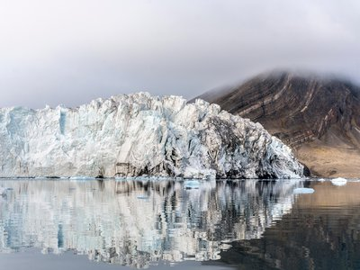 Svalbard has the densest population of surging glaciers in the world.
