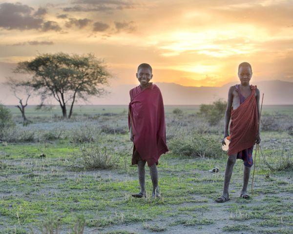 Masai Shepard sunset thumbnail