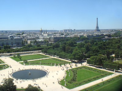 The planned memorial to victims of slavery will be located in the Tuileries Gardens in the center of Paris.