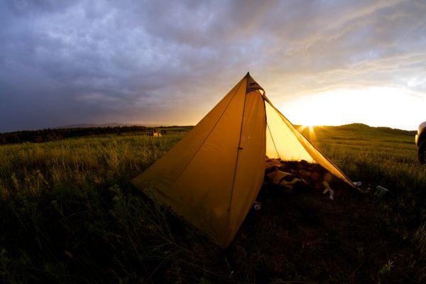 A modern teepee for a modern montanan adventure thumbnail