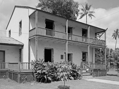 The Baldwins' home was reconstructed in 1966 and is now a museum showcasing the missionary's life in the mid-1800s.