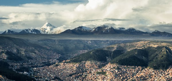 La Paz seen from El Alto  thumbnail