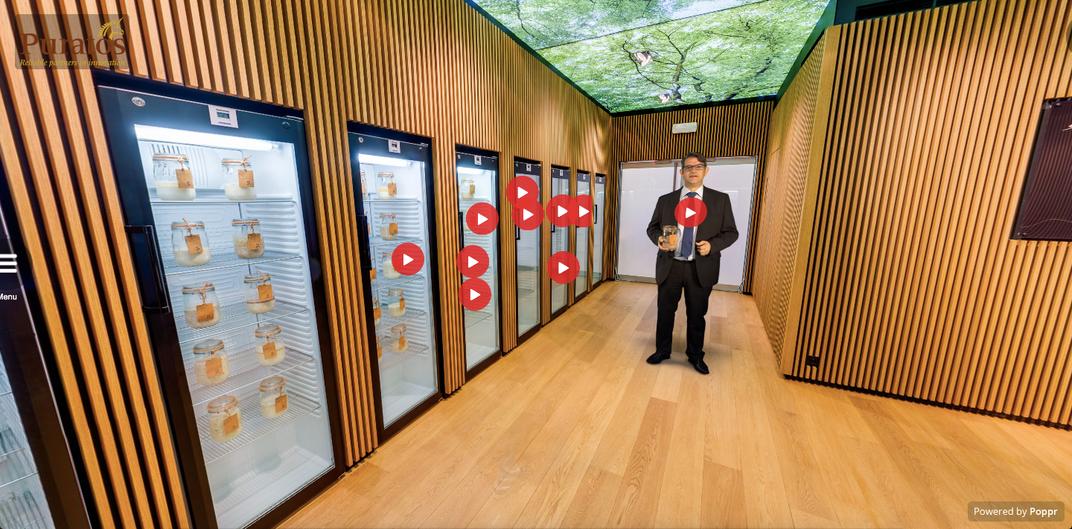 Take a Virtual Tour of This Belgian Sourdough Library