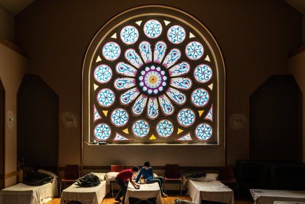 Refugee childrens in sanctuary in Denver, Colorado thumbnail