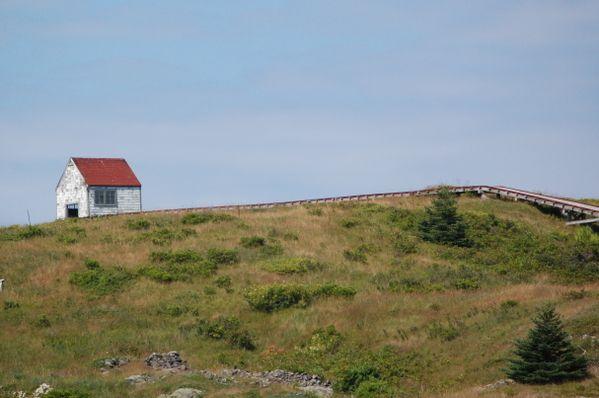 Old Coast Guard foghorn keeper's house, Manana Island, adjacent to Monhegan Island, ME thumbnail