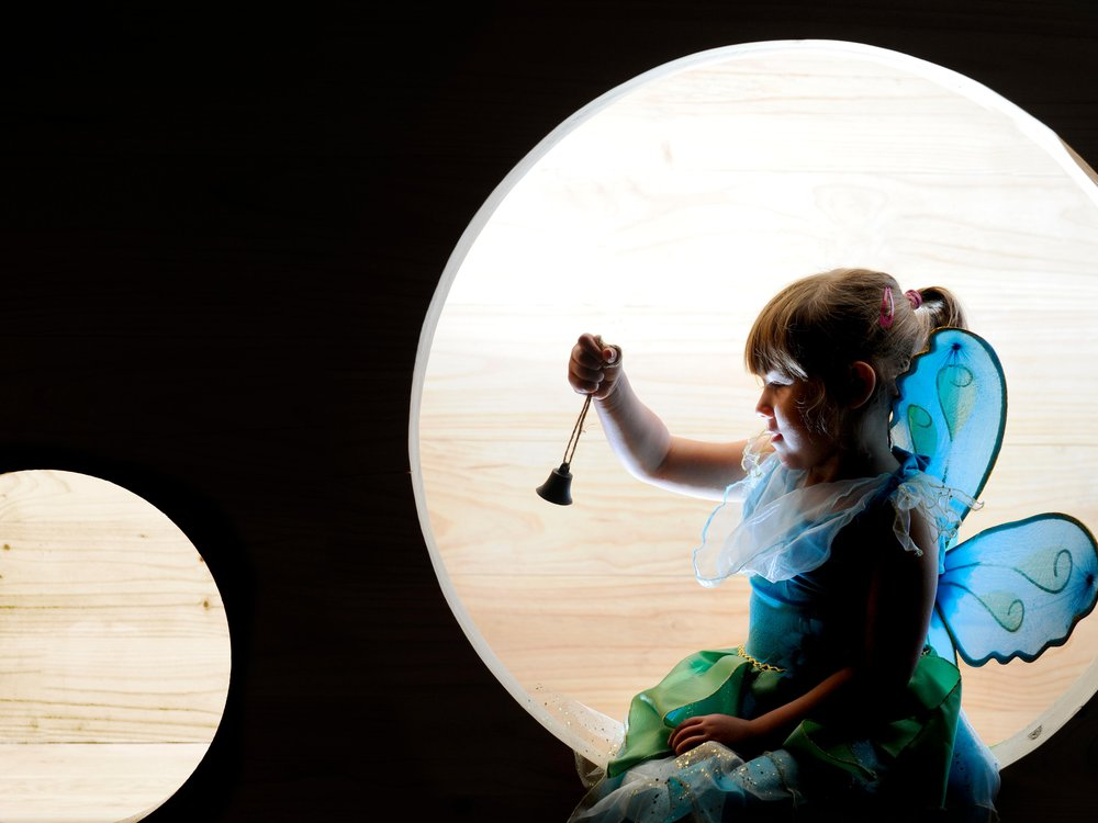 Tinker Bell at Moat Brae House Dumfries 02.jpg