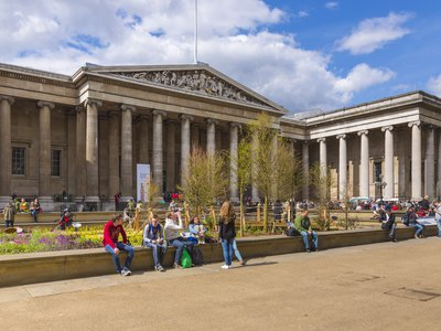 """For """"Night at the Museum: Secret of the Tomb,"""" Larry and the gang travel to the British Museum in London."""