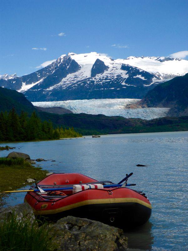 Float trip below Mendenhall Glacier thumbnail