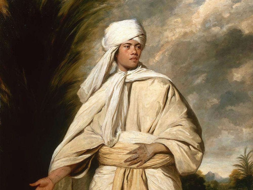 Joshua Reynolds' portrait of Mai
