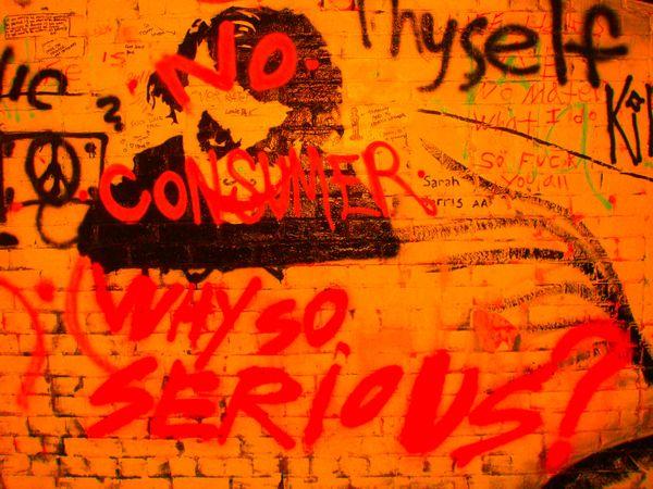 The Joker in Graffiti Alley, University of Michigan, Ann Arbor thumbnail