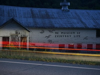 The Museum of Everyday Life in Glover, Vermont, is worth the detour.