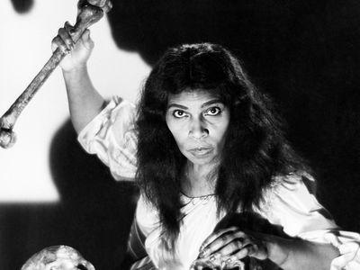 Marian Anderson as Ulrica in the Verdi opera Un ballo in maschera