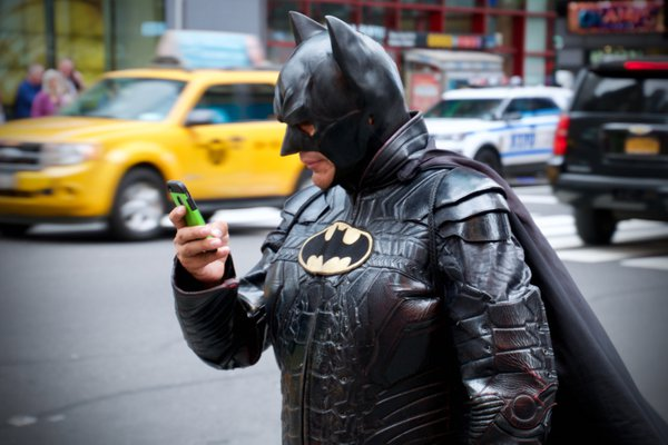Batman goes digital thumbnail