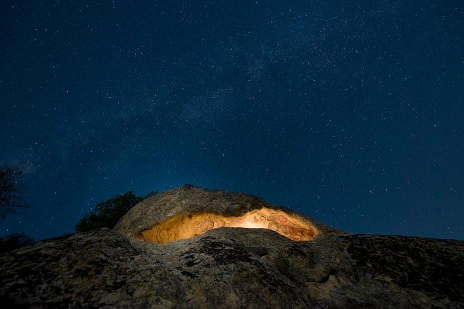 Pleito cave site