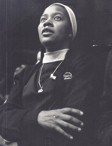 Nuns such as civil rights activist, Dolores Bundy (c.1970) have been a force for social change.