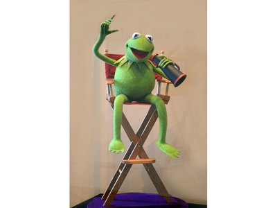 First debuted as a minor character in Henson's 1955 TV show Sam & Friends, Kermit the Frog has since become a Hollywood icon.