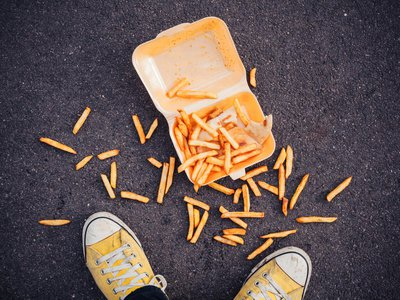 How badly do you want those fries?