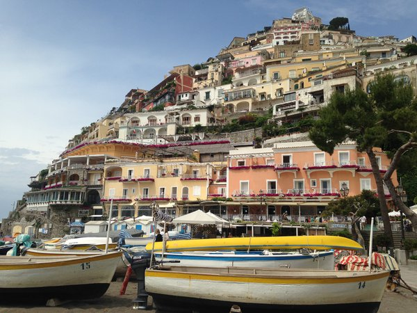 The cliffside village of Positano. thumbnail