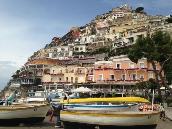 The cliffside village of Positano. thumbnail