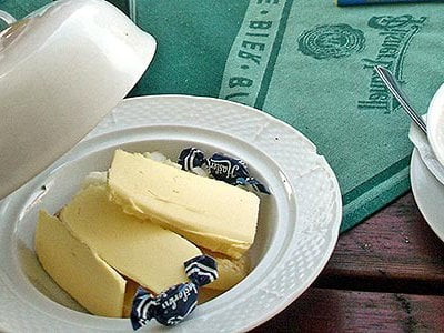 Locals know to hold their nose when enjoying the stinky cheese of Olomouc.